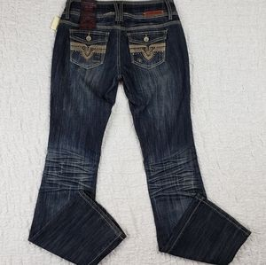 Almost Famous Boot Cut Jeans NWT
